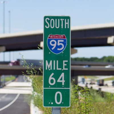 The express toll lanes will alleviate congestion along an 8-mile stretch of I-95 in both North and South directions.